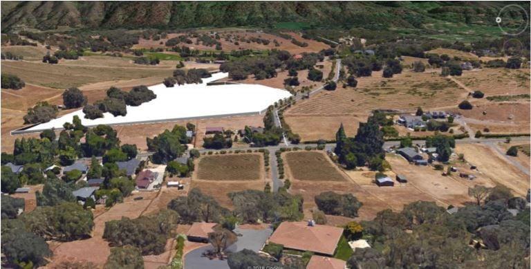 Proposed solar energy farm