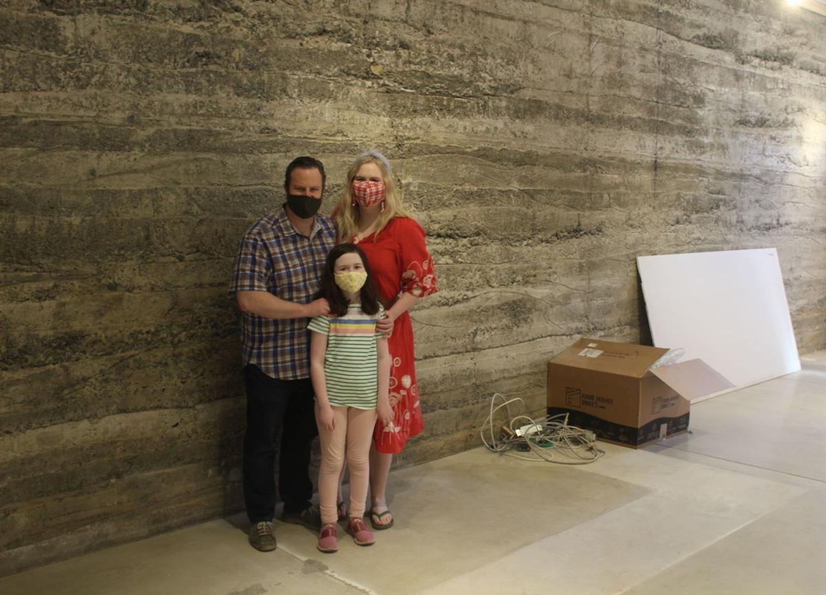 Patrick, Rachel and Charlotte Rue