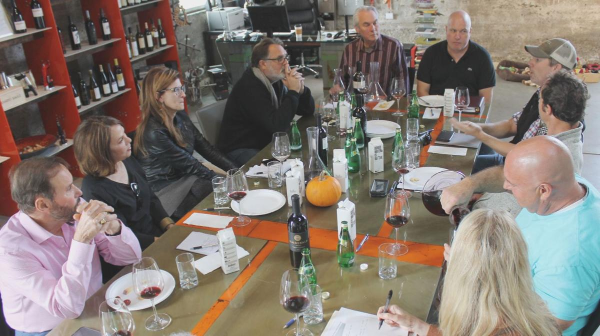 Wine discussion at 750 Wines