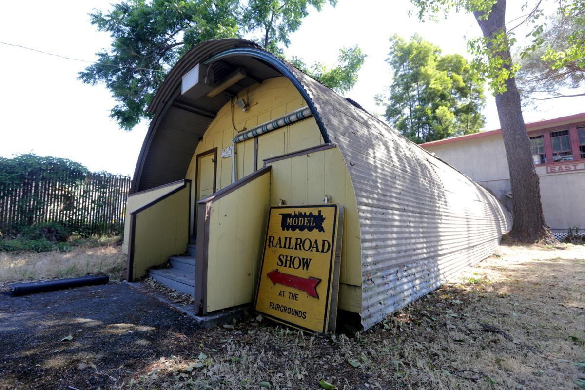 Model railroad dismantled at Napa Valley Expo