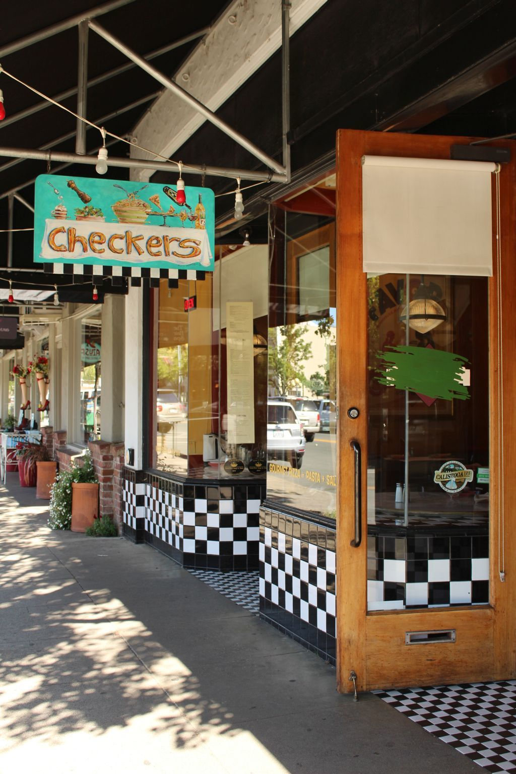 Checkers Restaurant in Calistoga