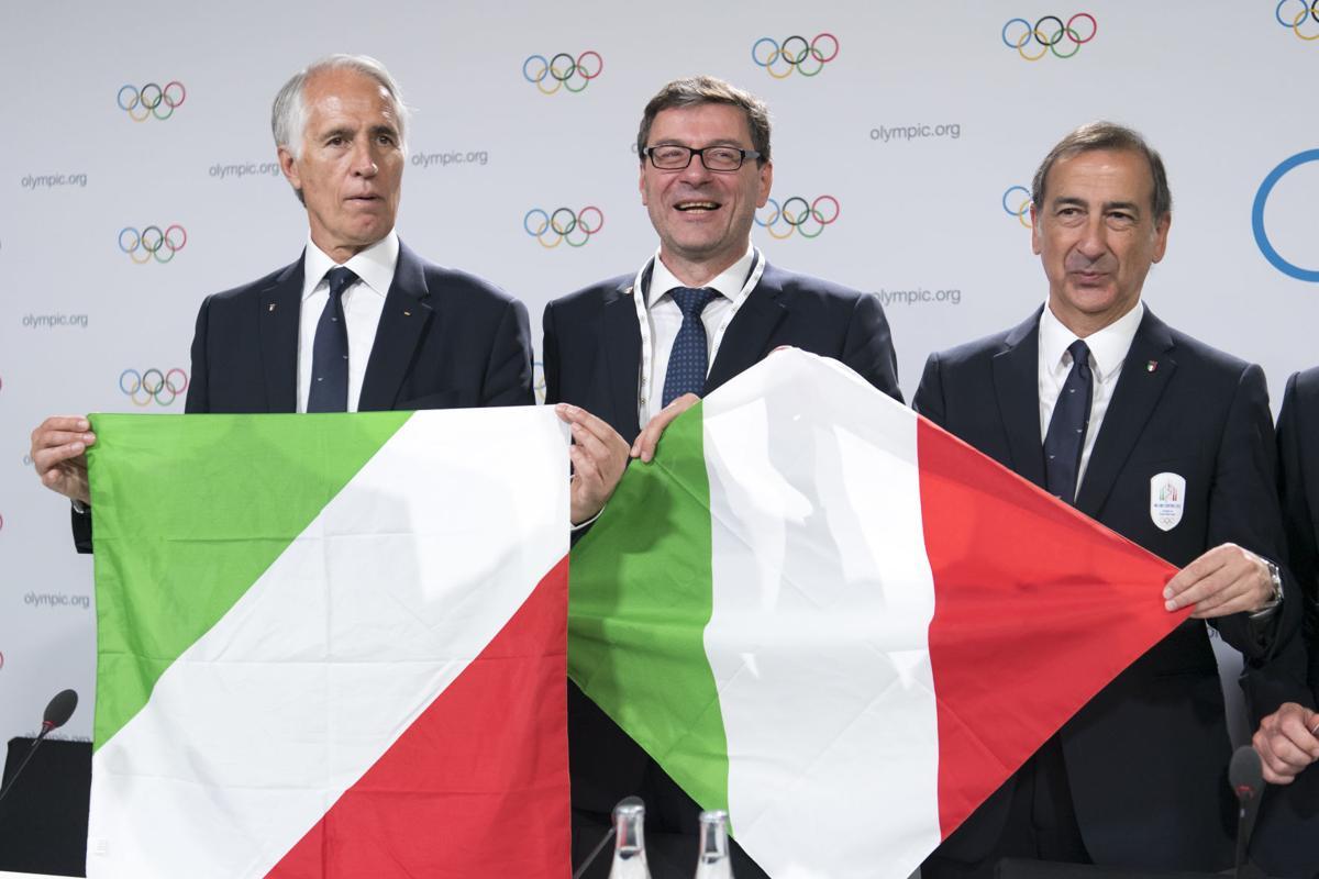 Italy wins 2026 Olympics host vote