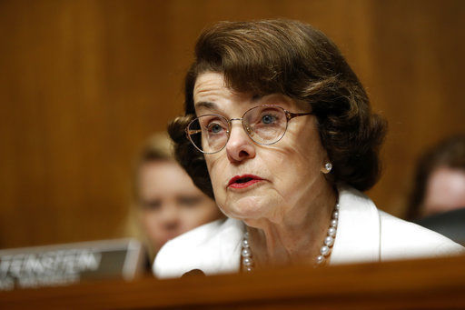 Sen. Dianne Feinstein says she's running for re-election