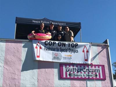 Cop on Top fundraiser