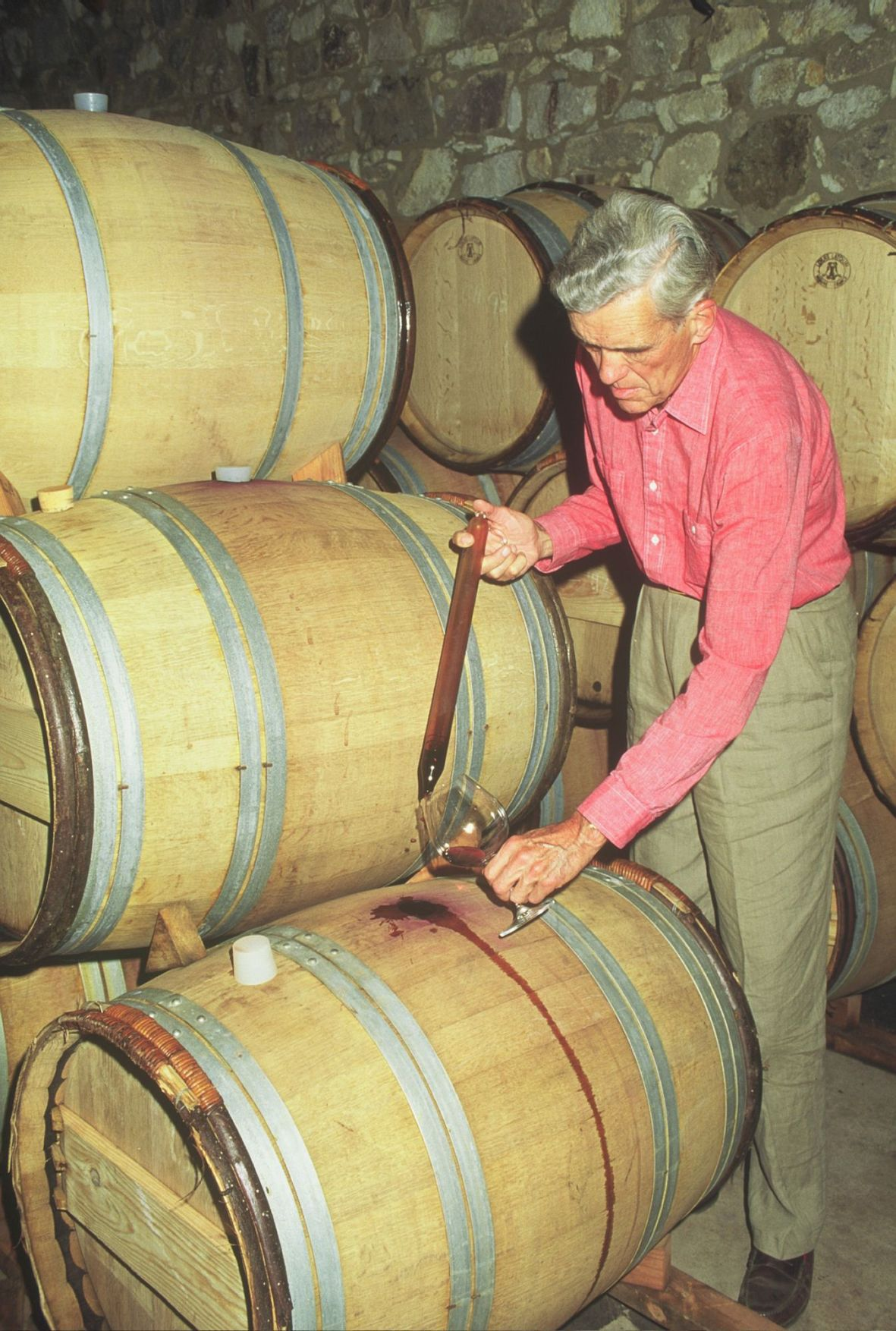 William Seavey, founder of Seavey Vineyards