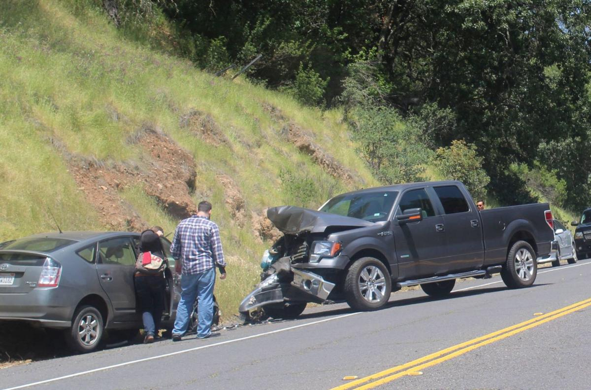 St Helena Road Car Crash