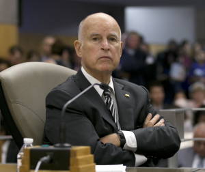 Gov. Jerry Brown. Photo by Rich Pedroncelli, Associated Press