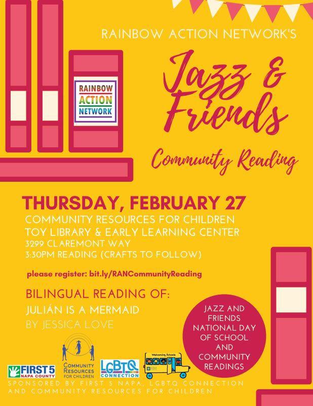 Jazz & Friends Community Reading