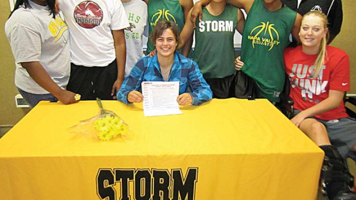 Nvc women 39 s basketball player signs with maine at fort for Valley motors fort kent
