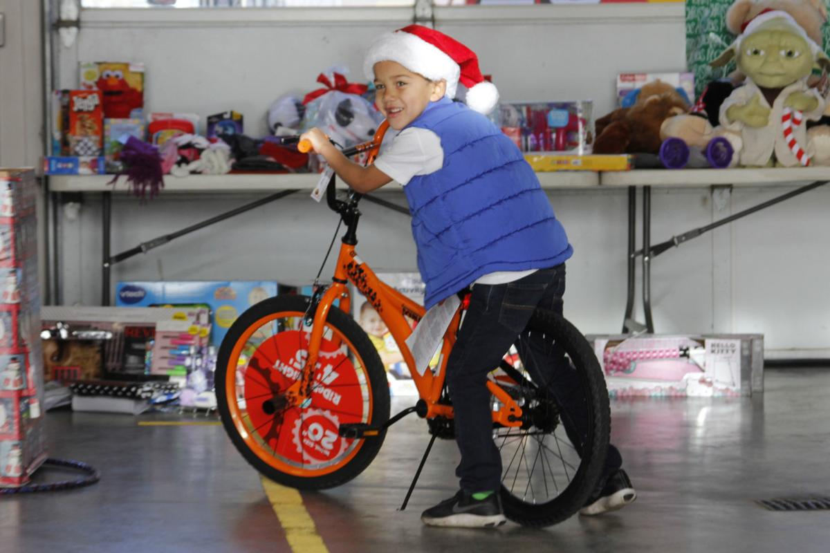 Cal Fire Napa County Toy Drive