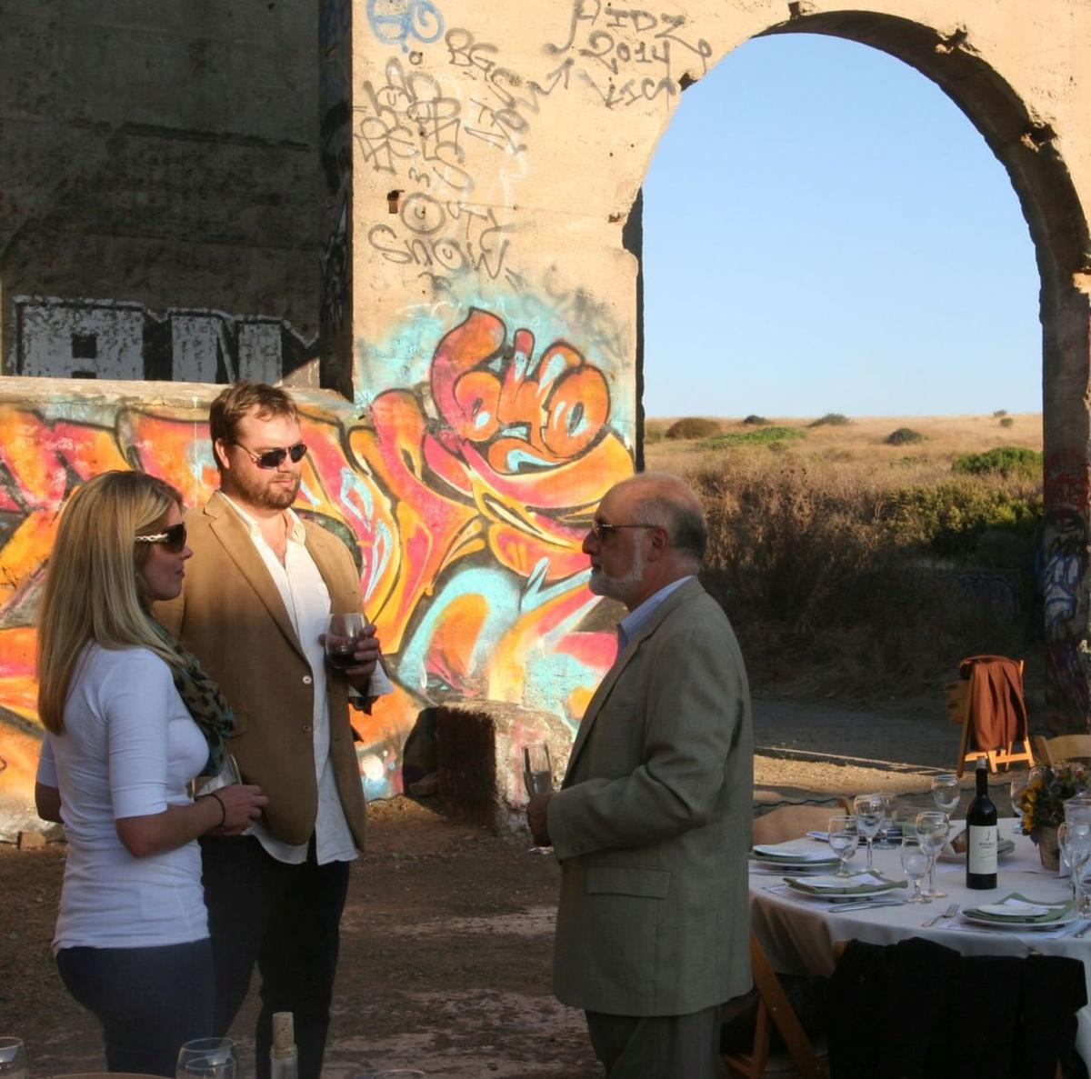 Evening at the ruins fundraiser