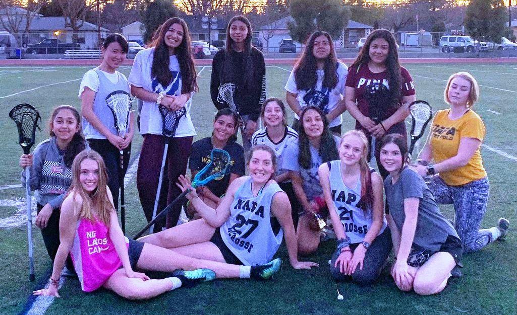 Napa High girls lacrosse