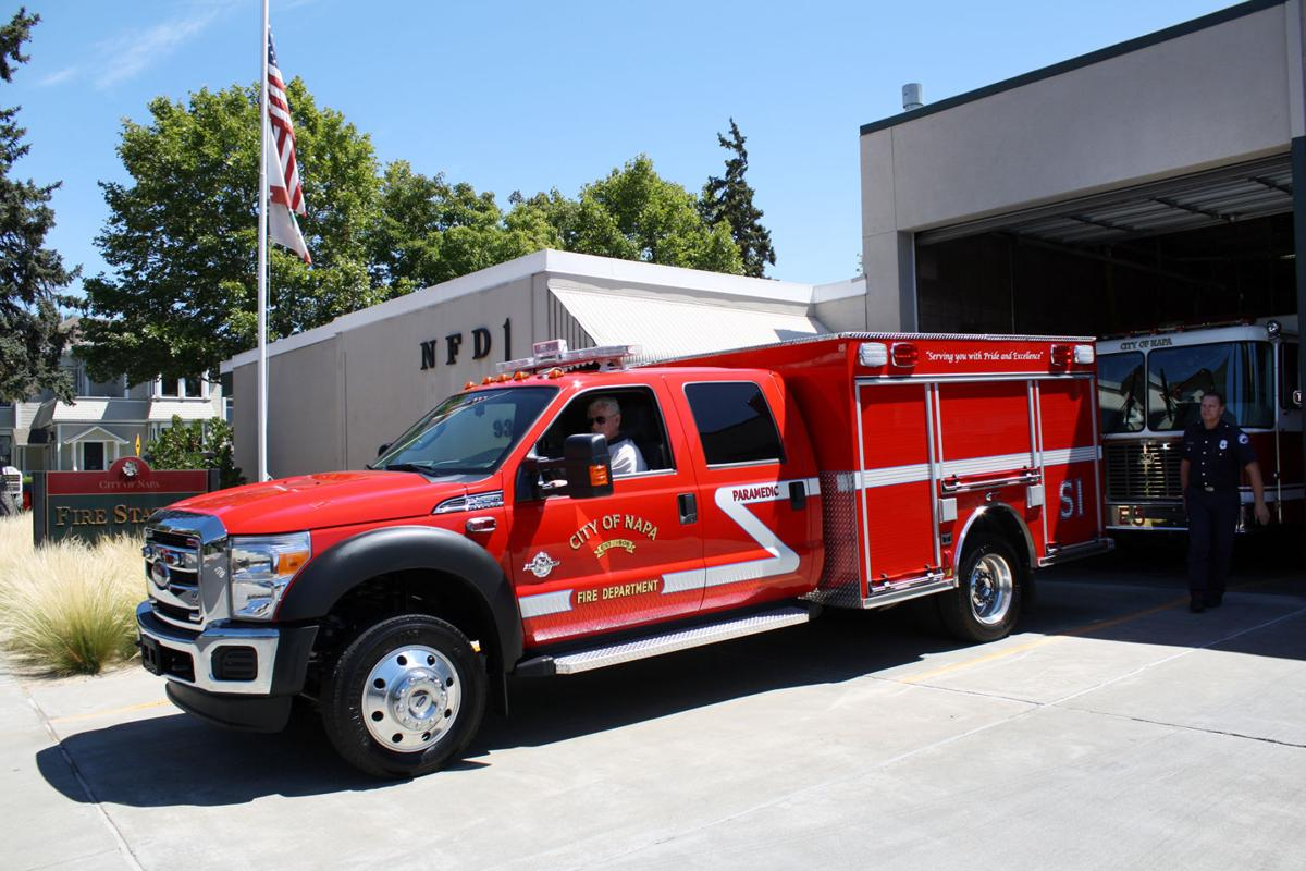 Napa Fire buys zippy vehicles for medical calls | Local News