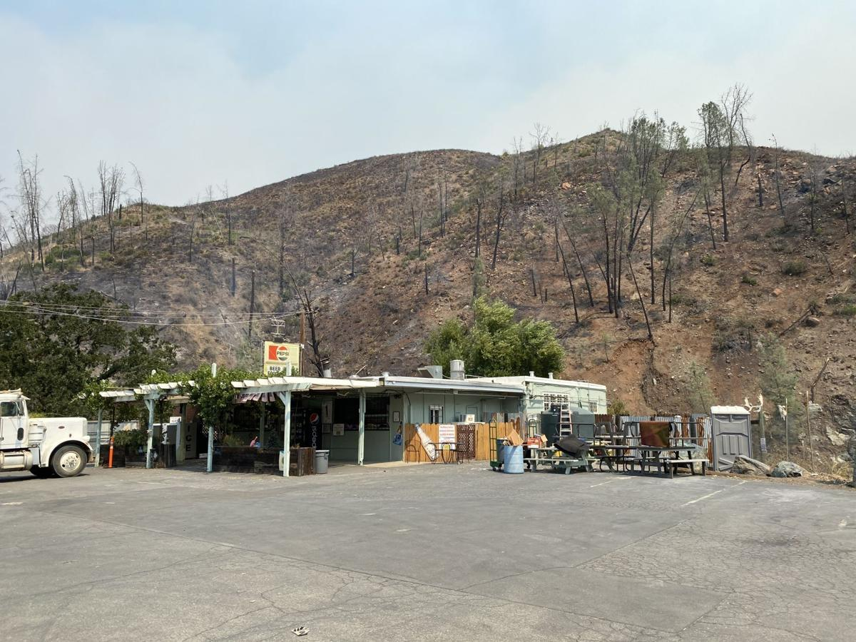 Hennessey Fire at Turtle Rock