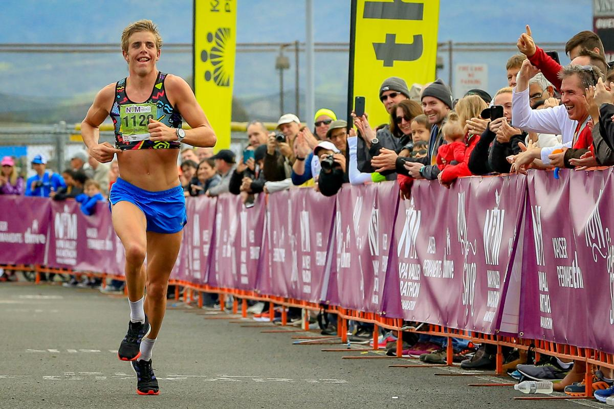 Napa Valley Marathon: Long claims men's title, Reichert tops women's