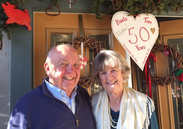 Shoars celebrate 50 years of marriage