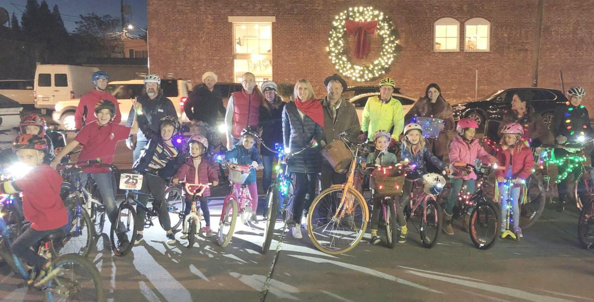 Group gathers for St. Helena bike ride