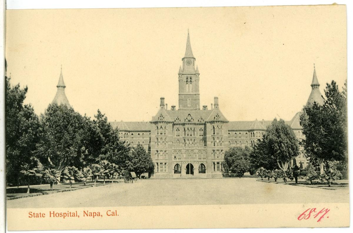 Once Upon A Time A Hospital Castle Was Napa Valleys Centerpiece