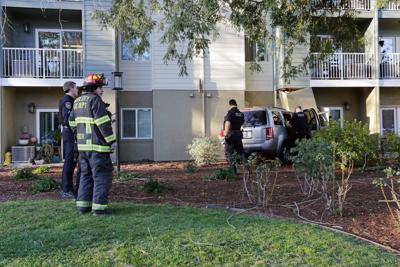 Vehicle crashes into Napa senior home