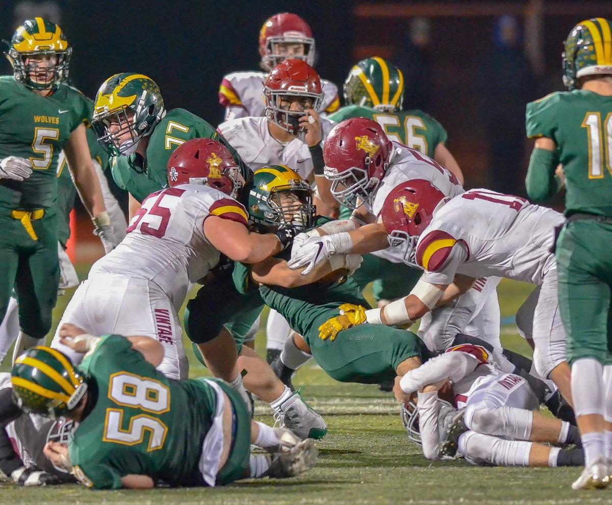Vintage football at San Ramon Valley