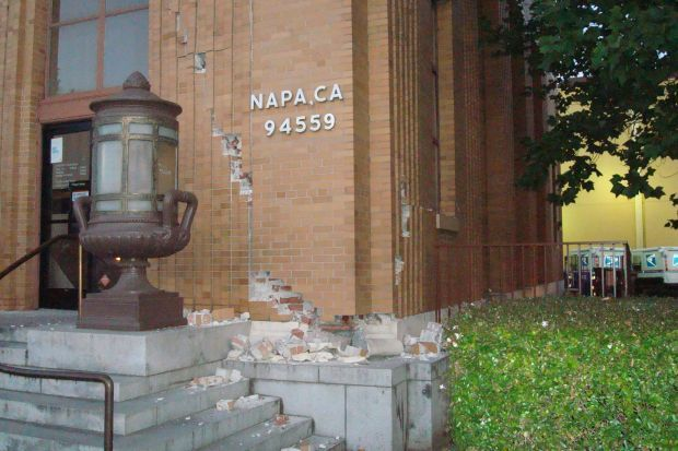 Napa downtown post office Aug. 24
