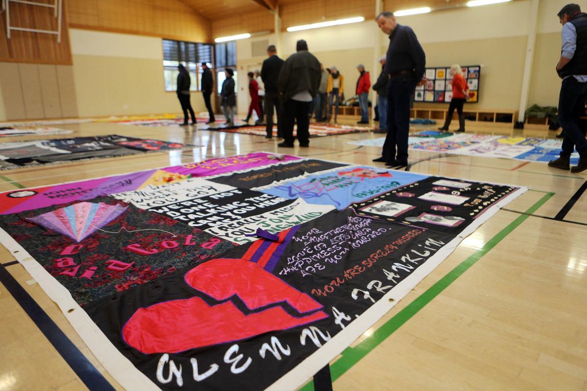 AIDS Memorial Quilt in Yountville