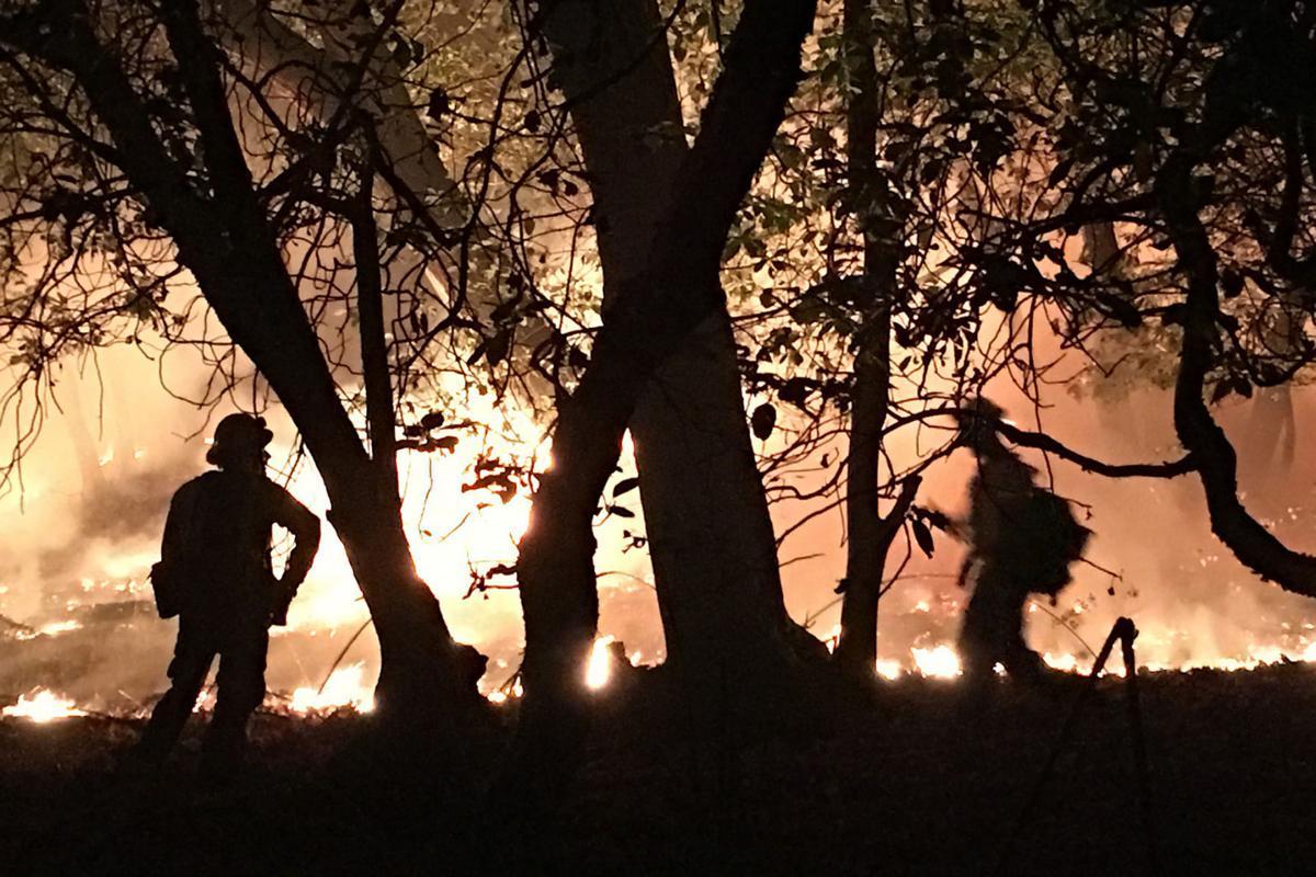 Circle Oaks Fire