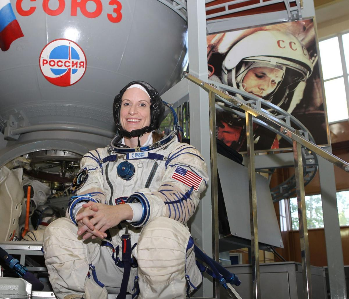Kate Rubins prepares for space station mission
