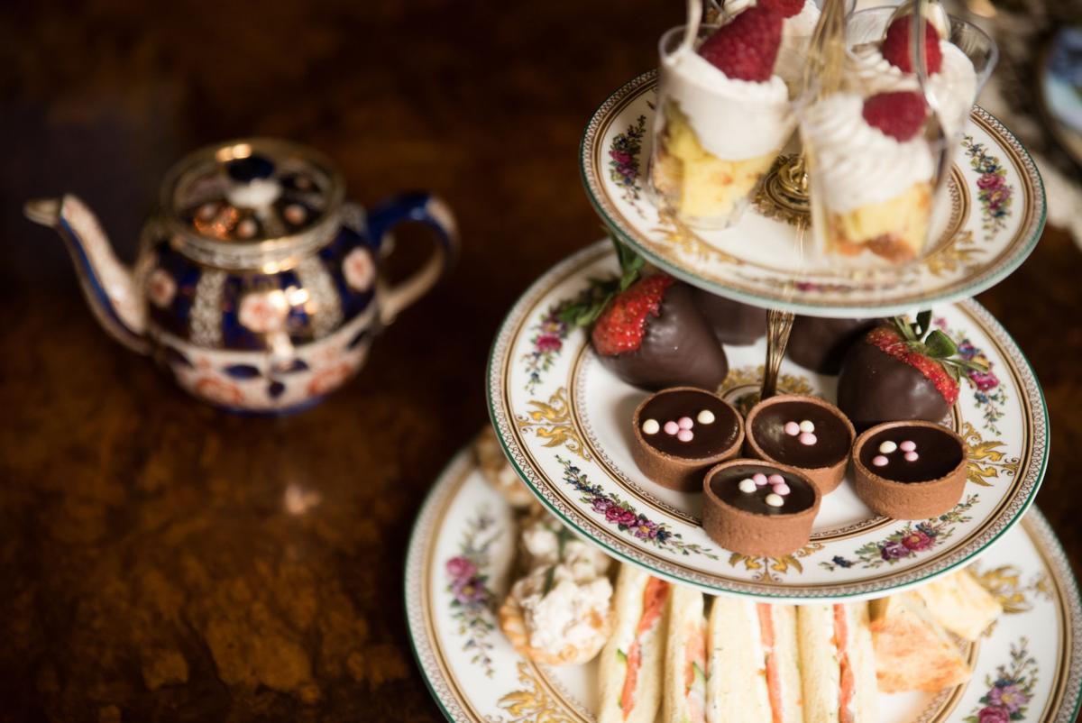 Afternoon Tea Petit Four Tier