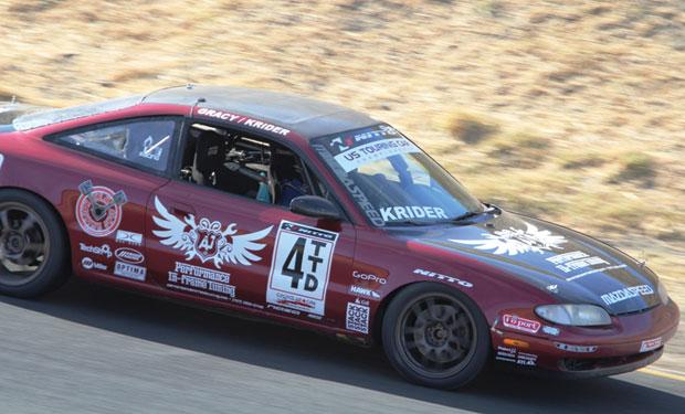 Randy Krider at Sonoma raceway