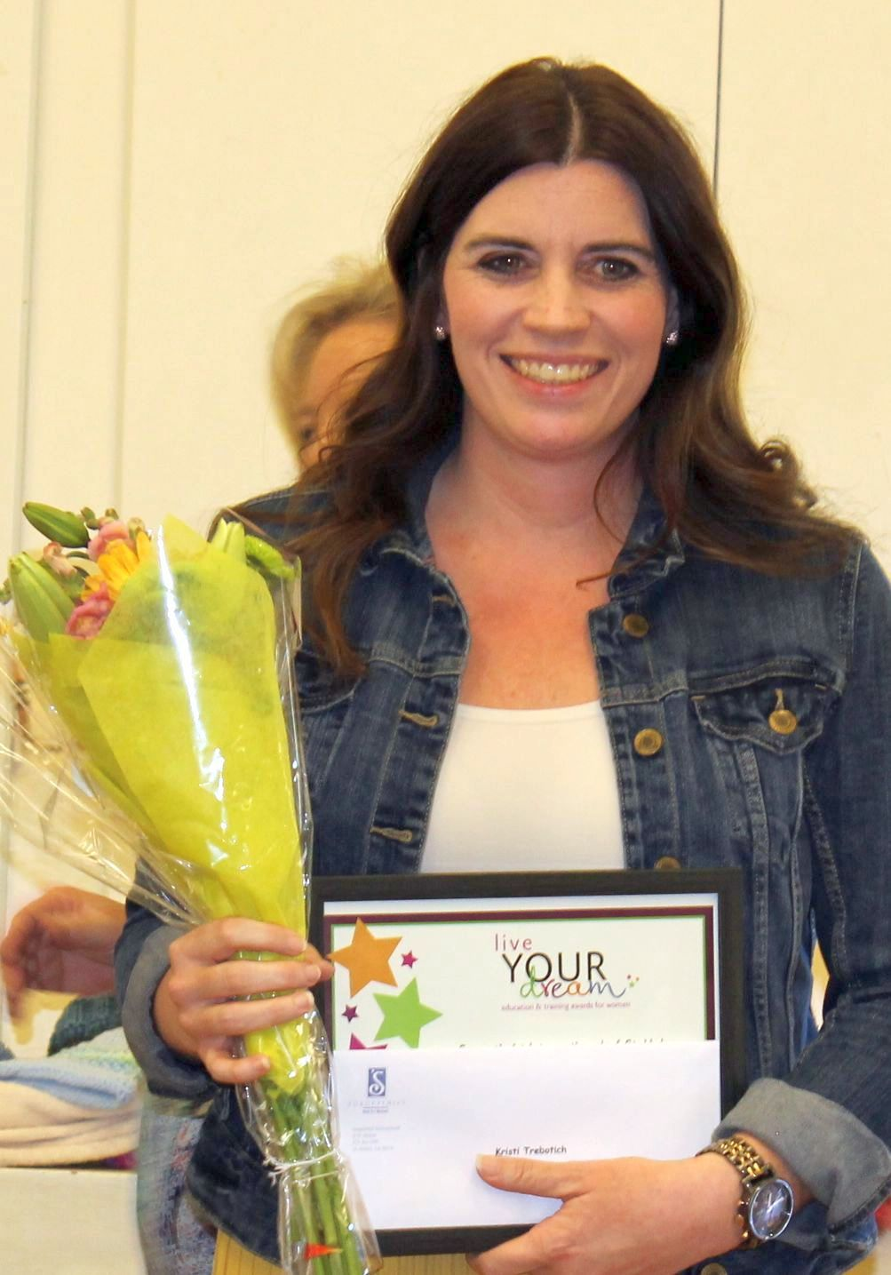 """""""Live Your Dream"""" award presented by Soroptimists"""