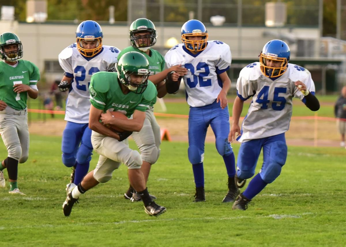 Calistoga vs. Potter Valley football