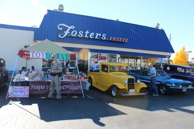 Napa Valley Cruisers Toy Drive