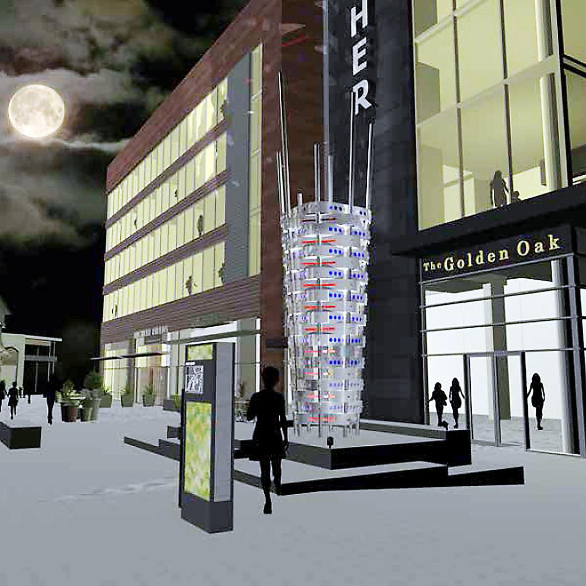 Archer Floats New Sculpture Proposal For Downtown Napa Hotel
