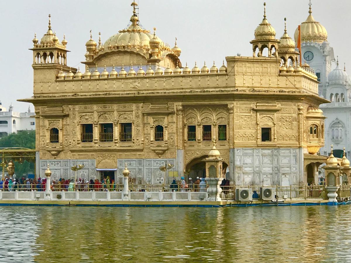 Golden Sikh Temple at Amistrar