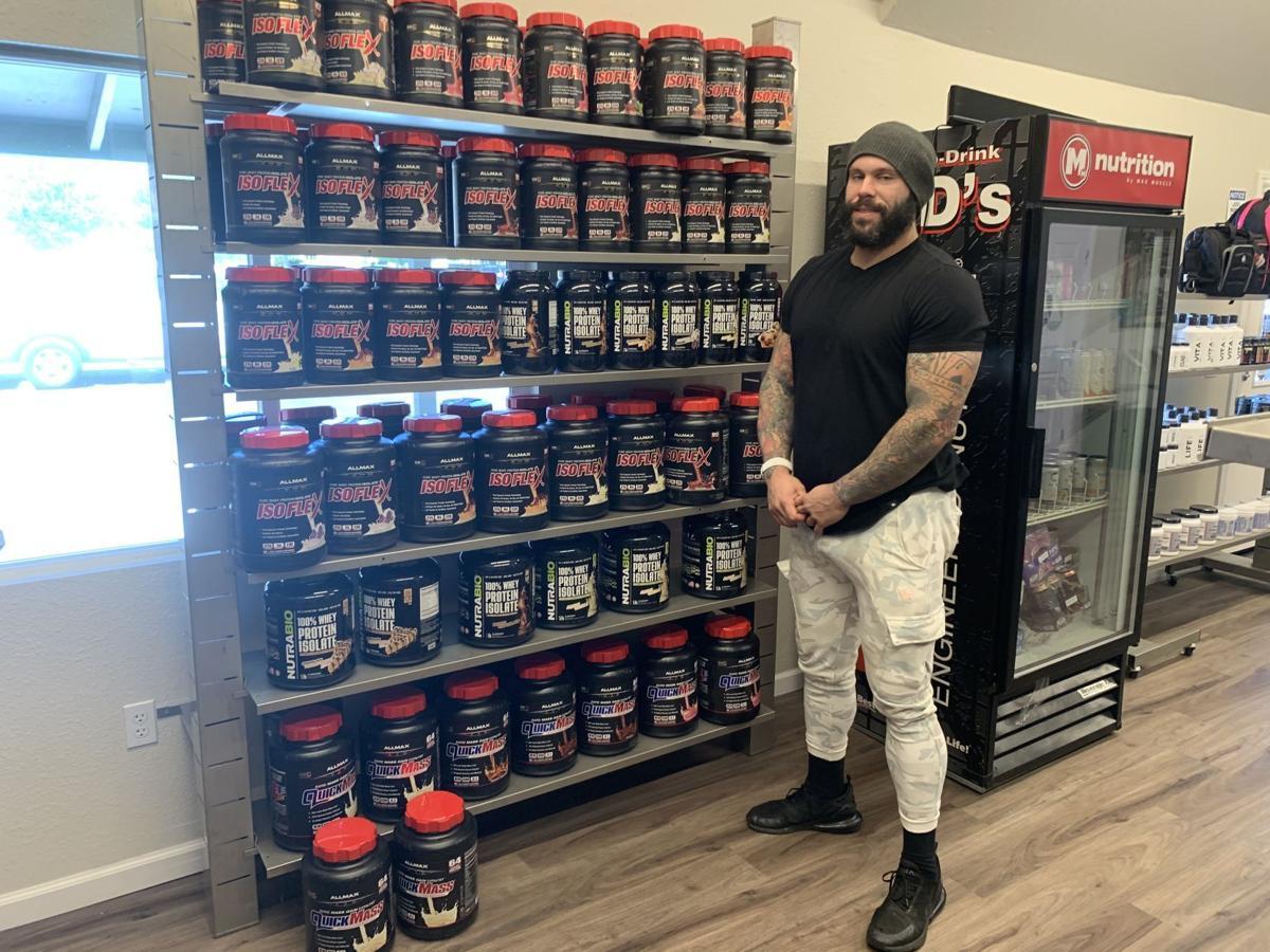 Bryson Daniels at Maxxed Nutrition of Napa