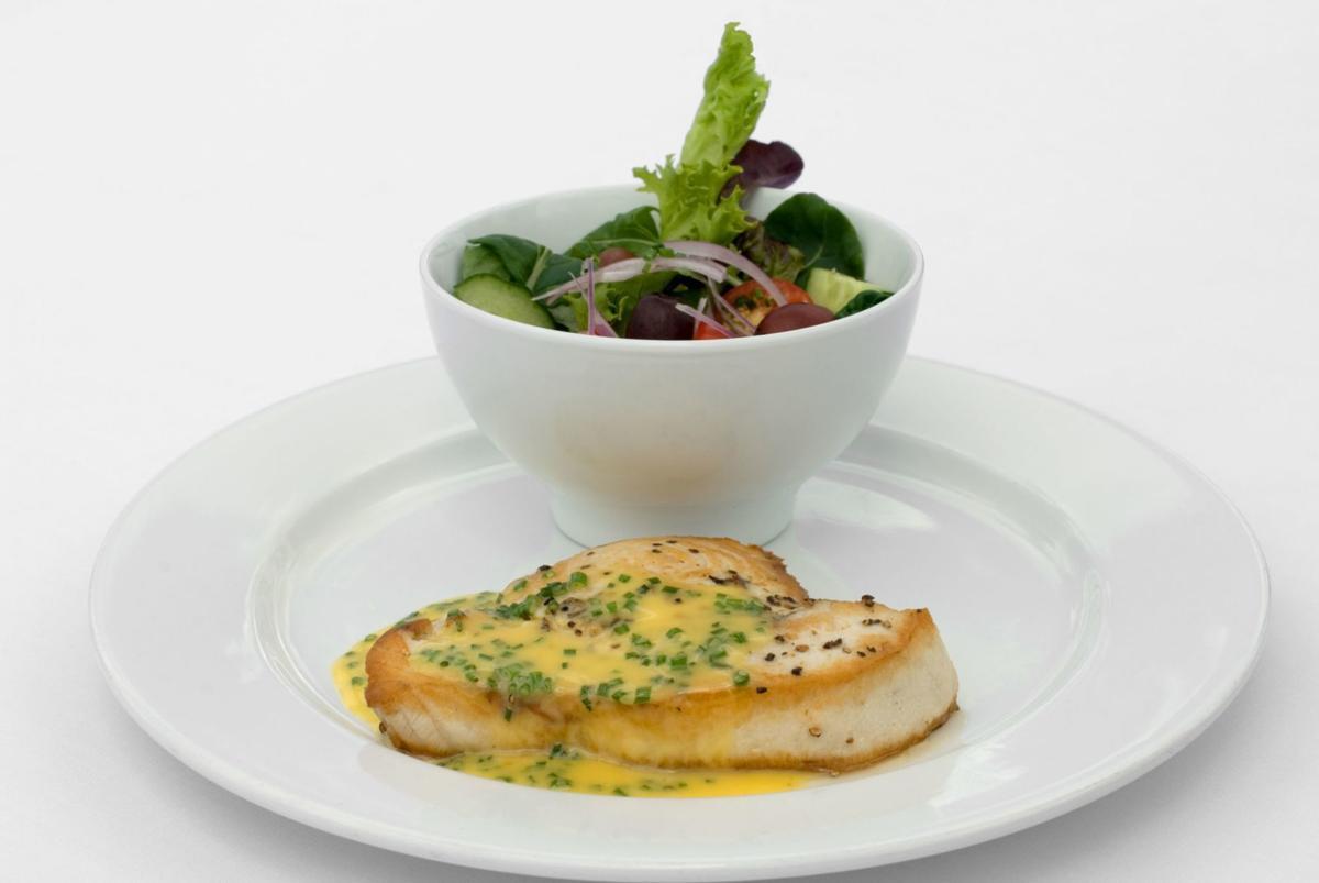 Swordfish & Salad