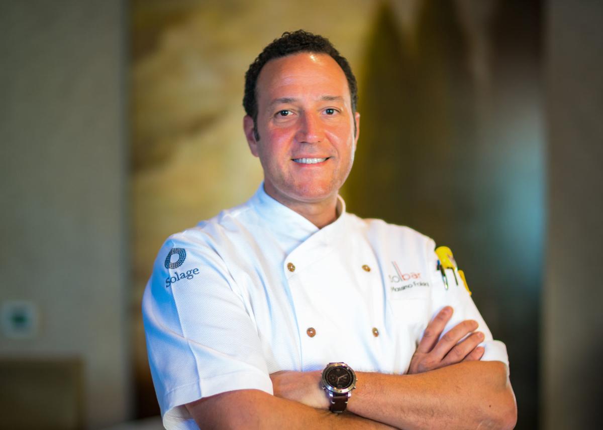 Solage chef, Massimo Falsini