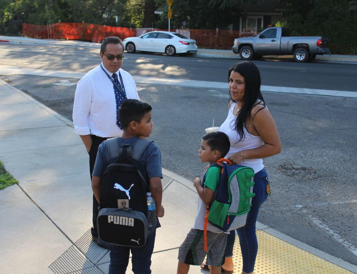 Calistoga first day of school