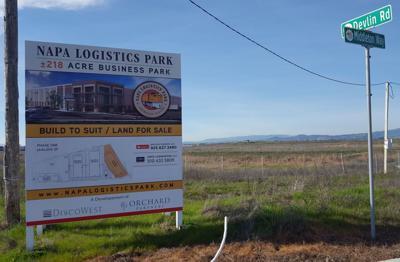 Napa Logistics Park sign Phase II (copy)
