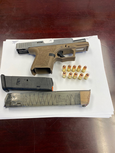 Ghost gun reportedly seized from Napa teenager