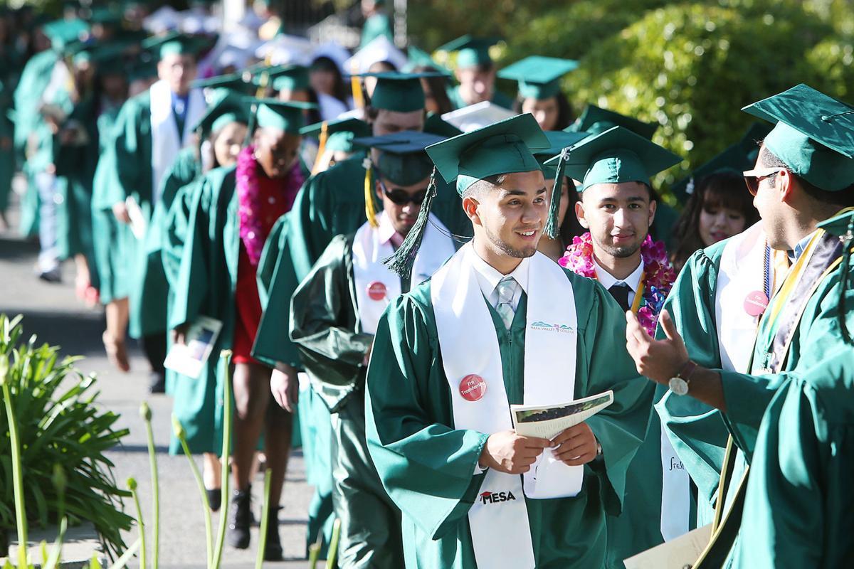 Photos: Napa Valley College Graduation