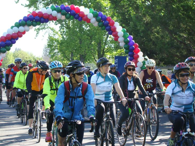 Cycle For Sight & Rotary Ride For Veterans