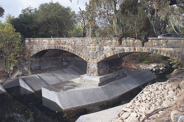 Zinfandel Lane bridge