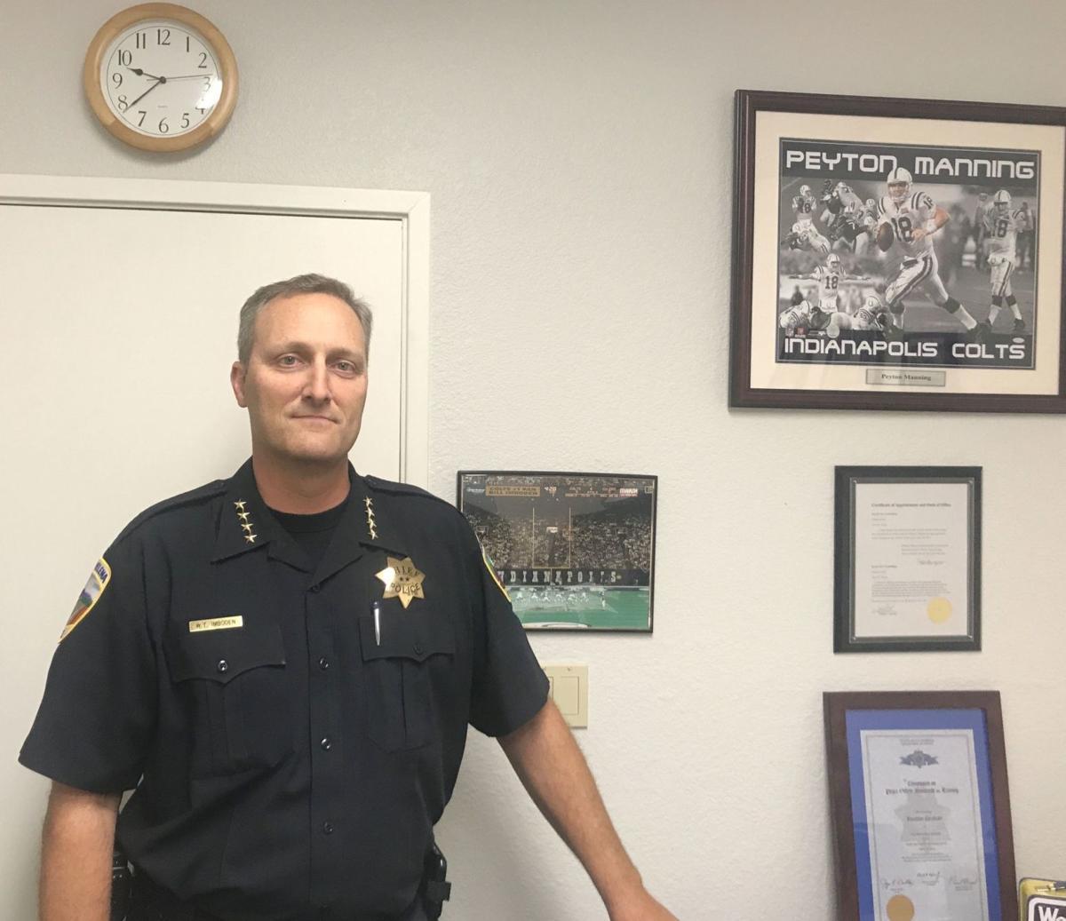 St. Helena Police Chief Bill Imboden