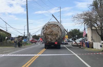 Napa Fire Department collision 4/16/19