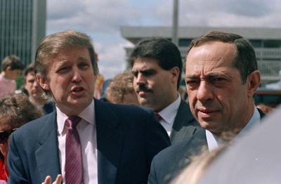 Donald Trump, Mario Cuomo