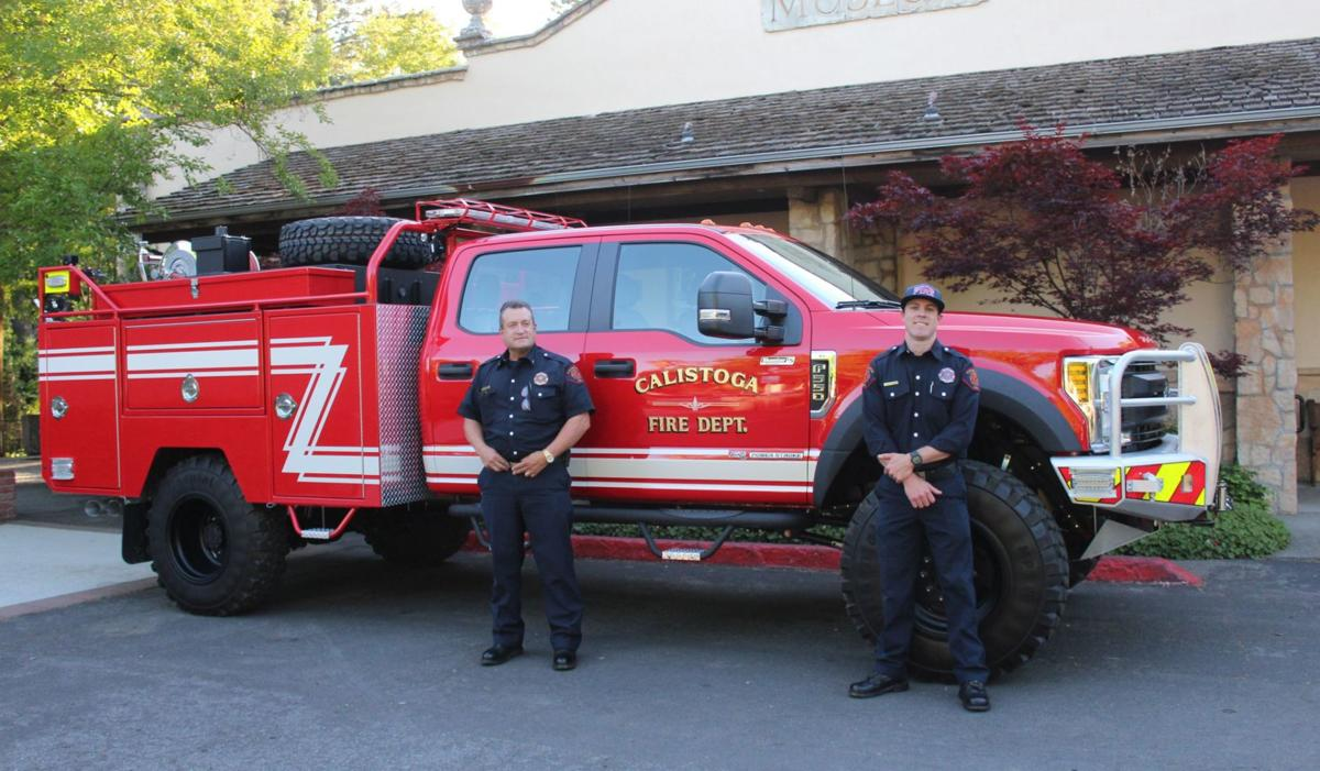 Calistoga firefighters