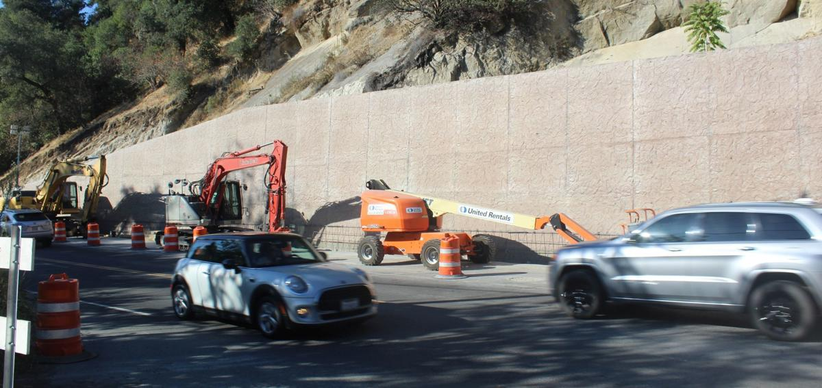 Silverado Trail repairs