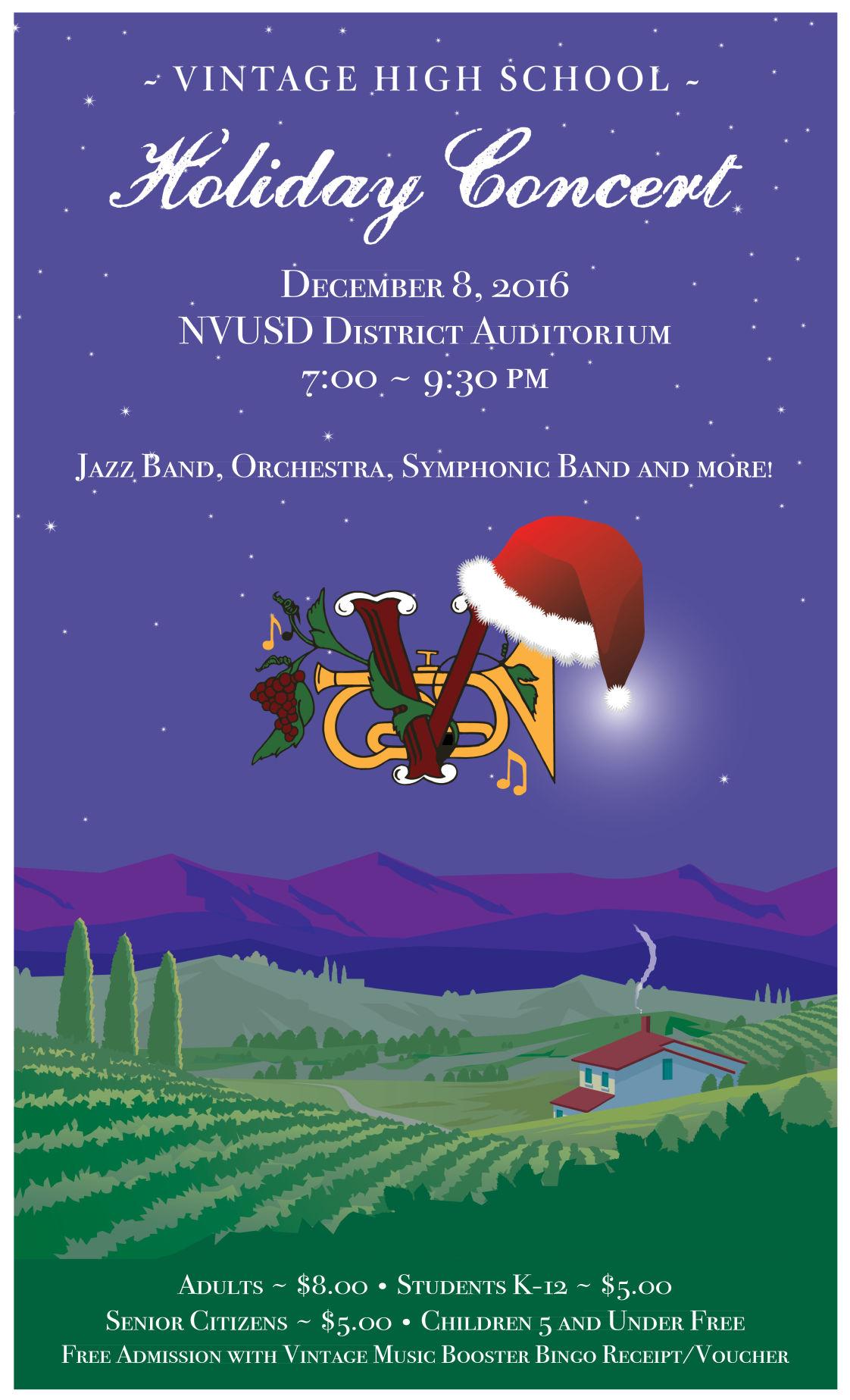 VHS Music Winter Concert